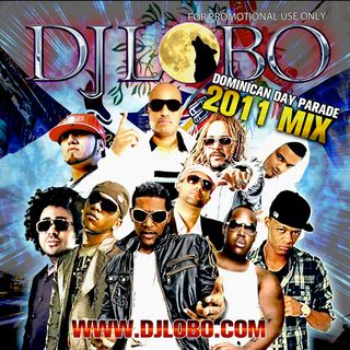 DJ LOBO DOMINICAN DAY PARADE MIX CD 2011 COVER