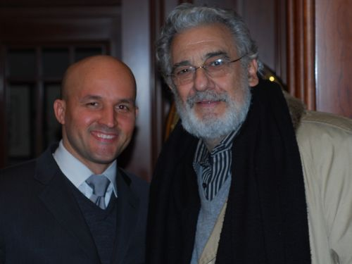 Dominicano y Placido Domingo
