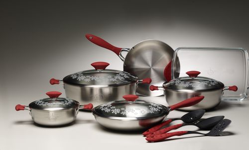 Cookware and untensil group